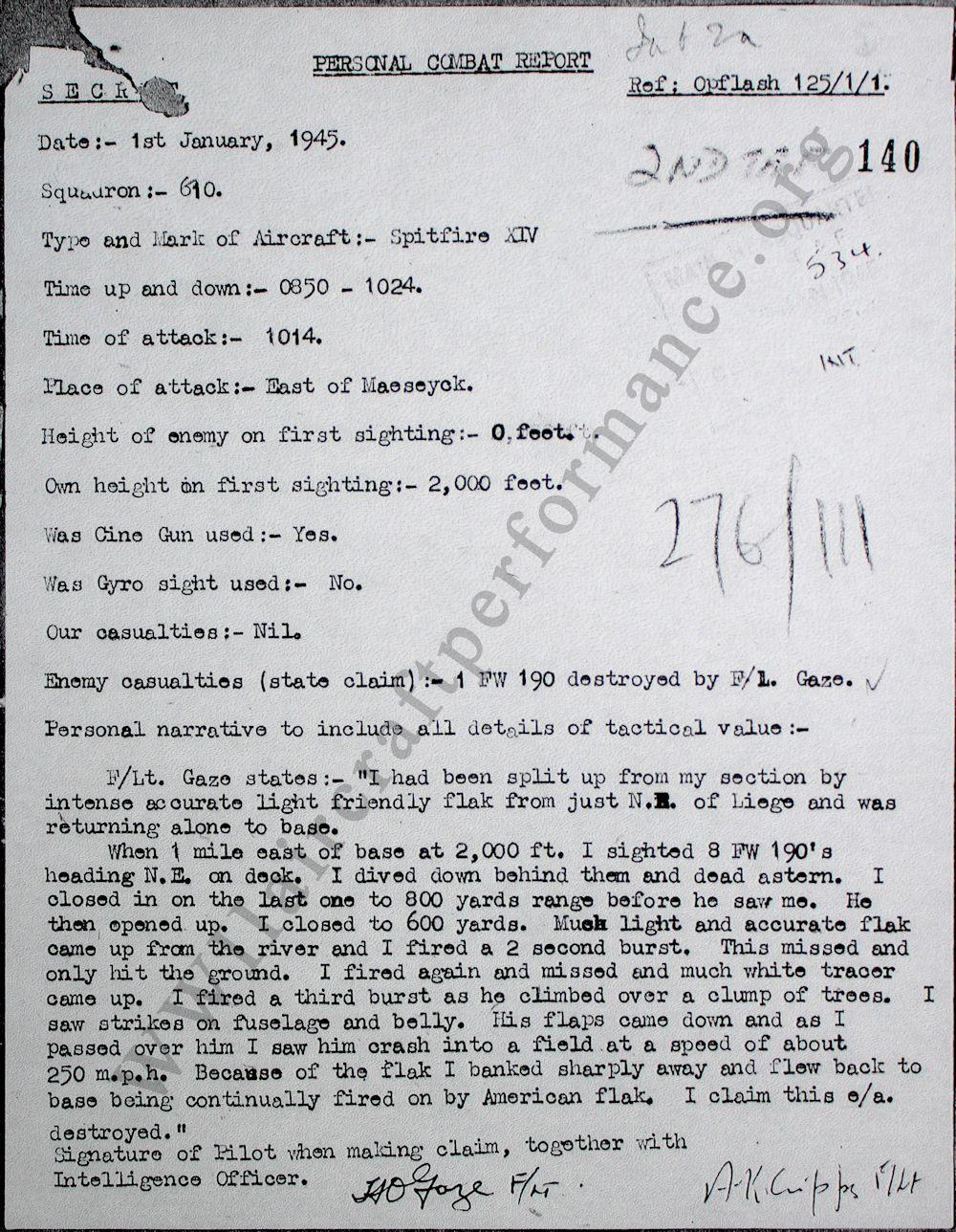 The bolt report 10 november 1945