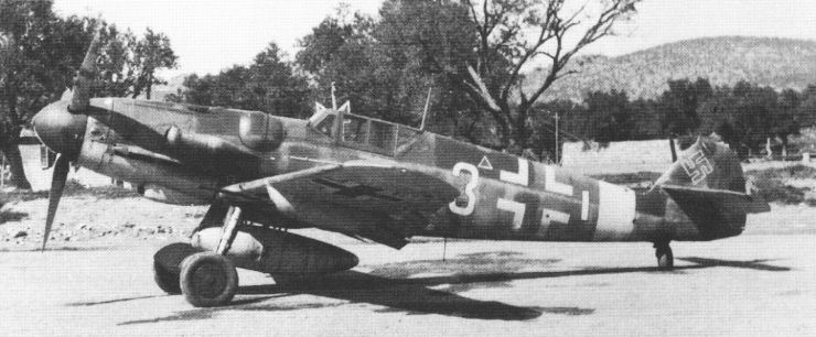 Me 109 G Flight Testing